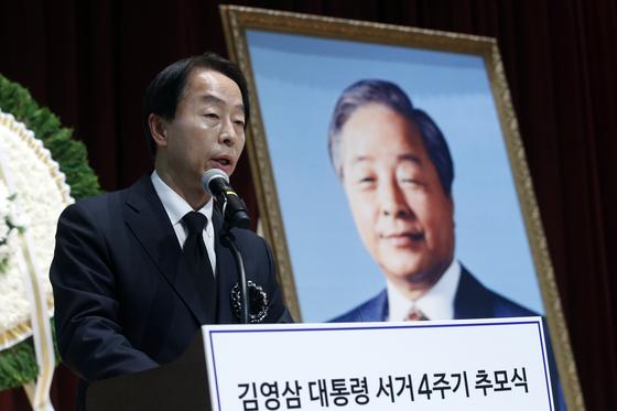 김현철 김영삼민주센터 상임이사. 뉴스1