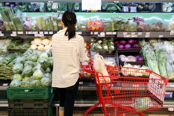 추석을 앞두고 채소·과일값이 천정부지로 치솟고 있다. 뉴스1