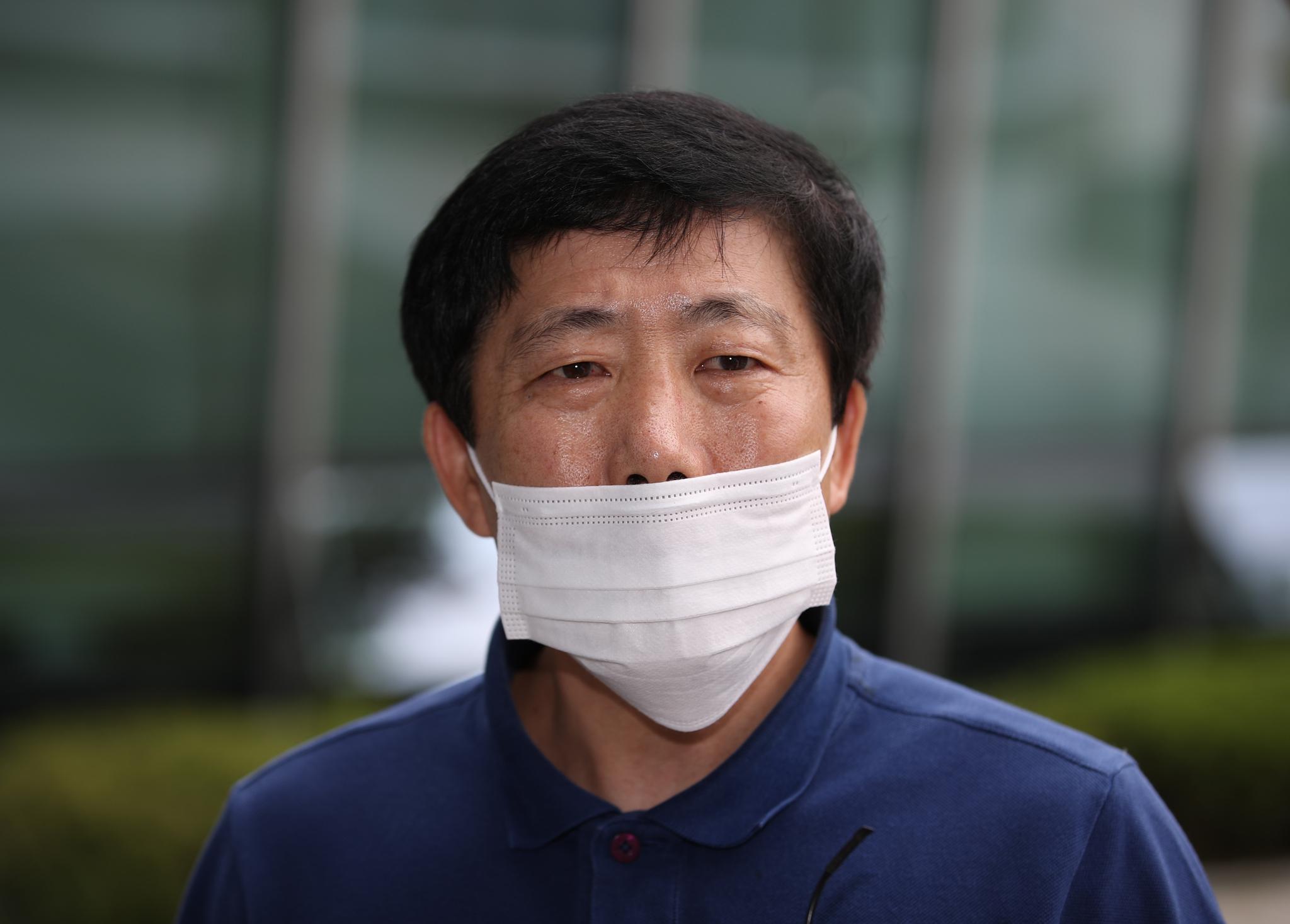 박상학 자유북한운동연합 대표. 연합뉴스