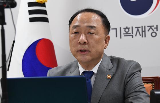 홍남기 부총리 겸 기획재정부 장관. 사진 기획재정부