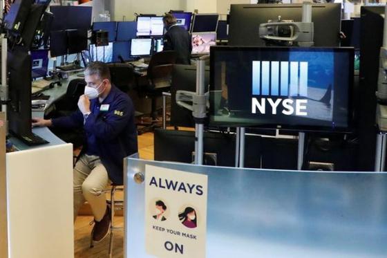 미국 뉴욕증권거래소(NYSE). 로이터=연합뉴스
