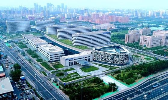 사진-중국 탠탄병원 항공사진