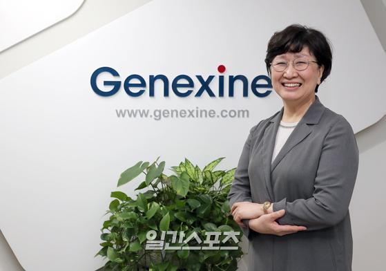 제넥신의 우정원 연구소장이 9일 성남 판교 본사에서 진행된 인터뷰에서 자사가 개발 중인 코로나19 백신과 치료제에 대한 경과를 설명했다. 성남=정시종 기자