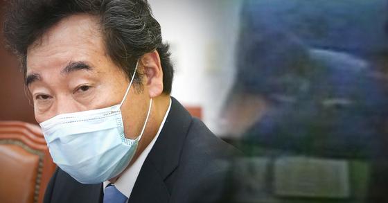 이낙연 더불어민주당 대표(왼쪽)가 조두순 출소와 관련해 우려를 나타냈다. 오른쪽은 조두순 수감 당시 모습. JTBC·연합뉴스