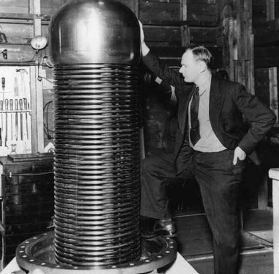 도널드 트럼프 대통령의 삼촌인 존 트럼프 박사. MIT에서 40년 넘게 연구를 한 저명한 물리학자다. [MIT Museum]