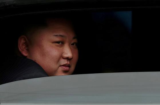 김정은 북한 국무위원장이 2019년 2월 북미 2차 정상회담을 하기 위해 베트남 하노이를 찾았다. [로이터=연합뉴스]