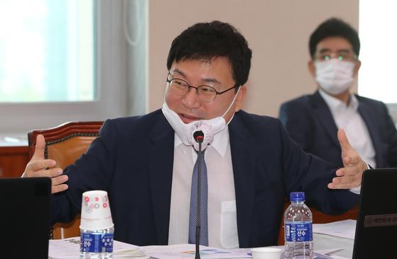 이상직 민주당 의원. 오종택 기자