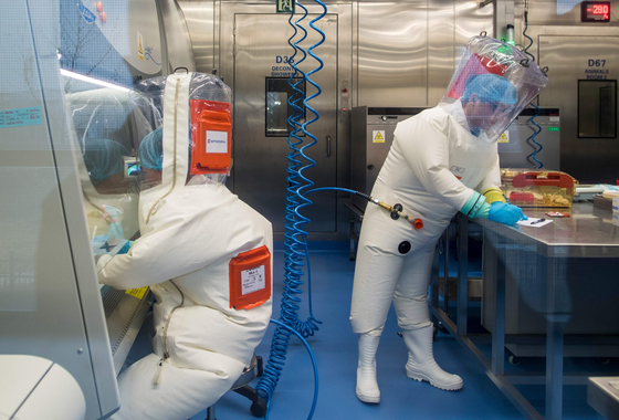 우한 바이러스 연구소. [AFP=연합뉴스]