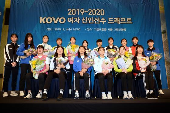 2020~2021 여자 배구 신인 드래프트가 비대면으로 진행된다. 사진=KOVO 제공