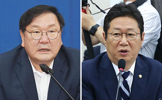 김태년(左), 황희(右)