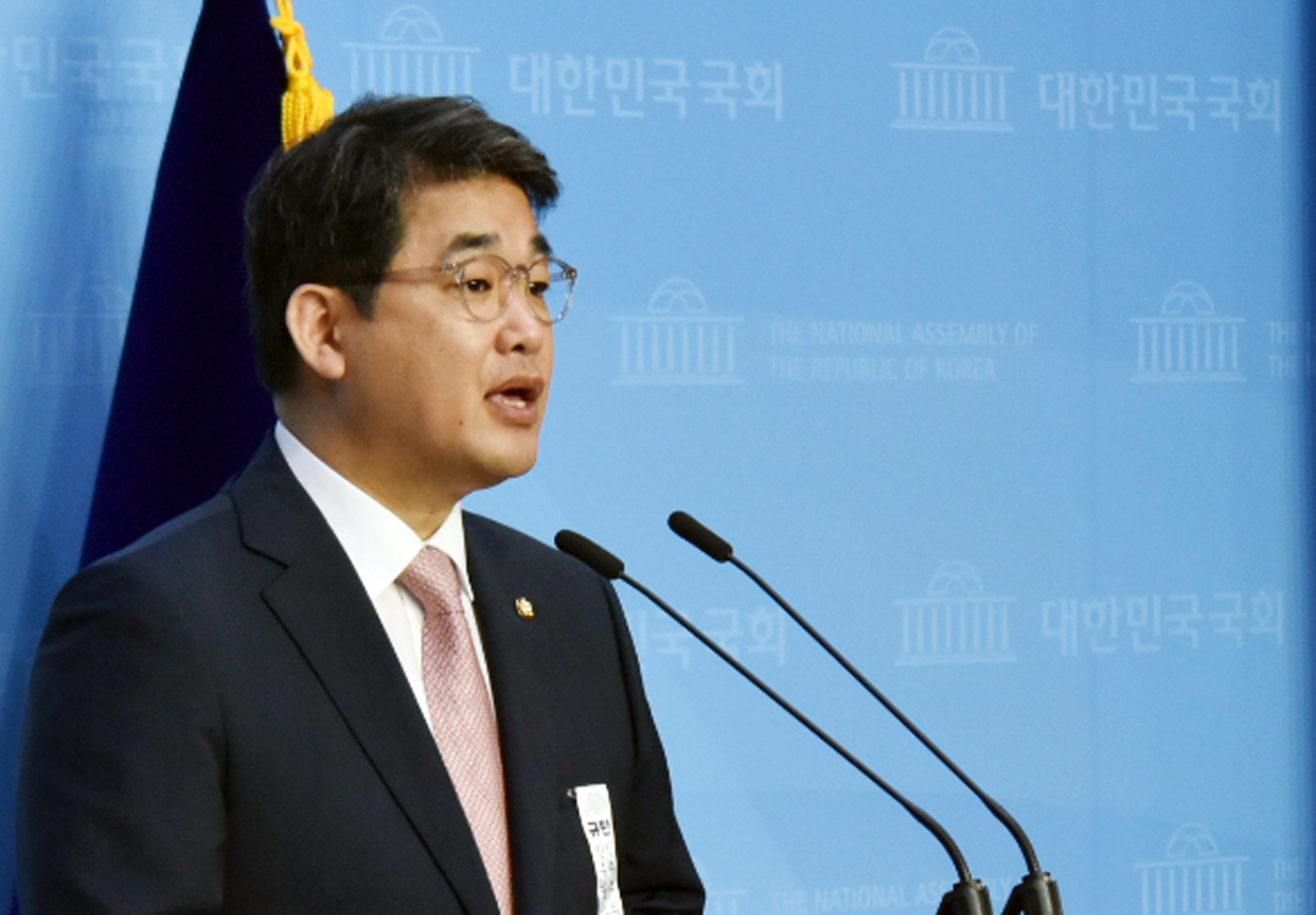 국민의힘 대변인 배준영 의원. 연합뉴스