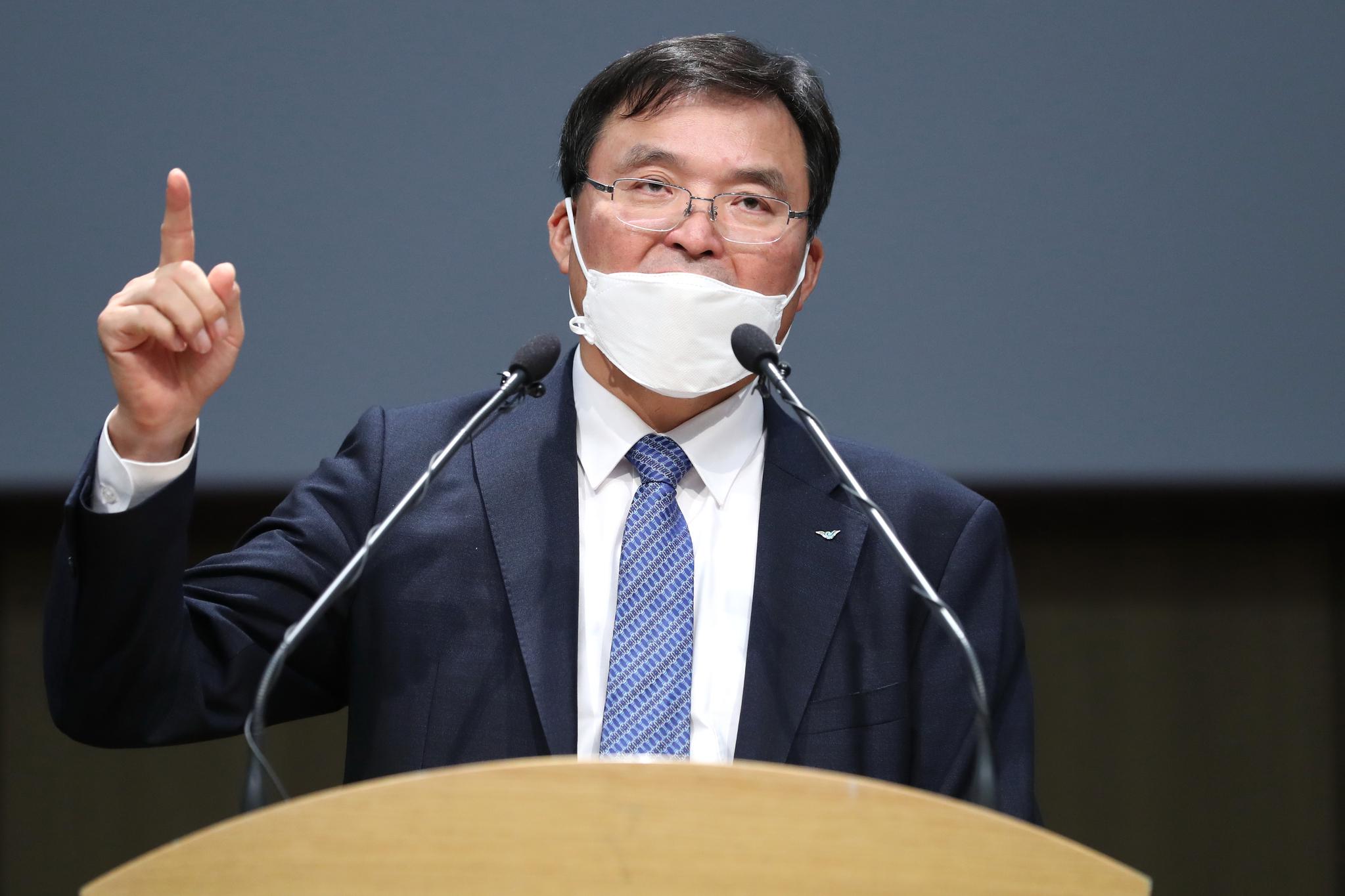 국토부의 반격 인천공항 사장 거짓말…태풍때 복귀 안했다