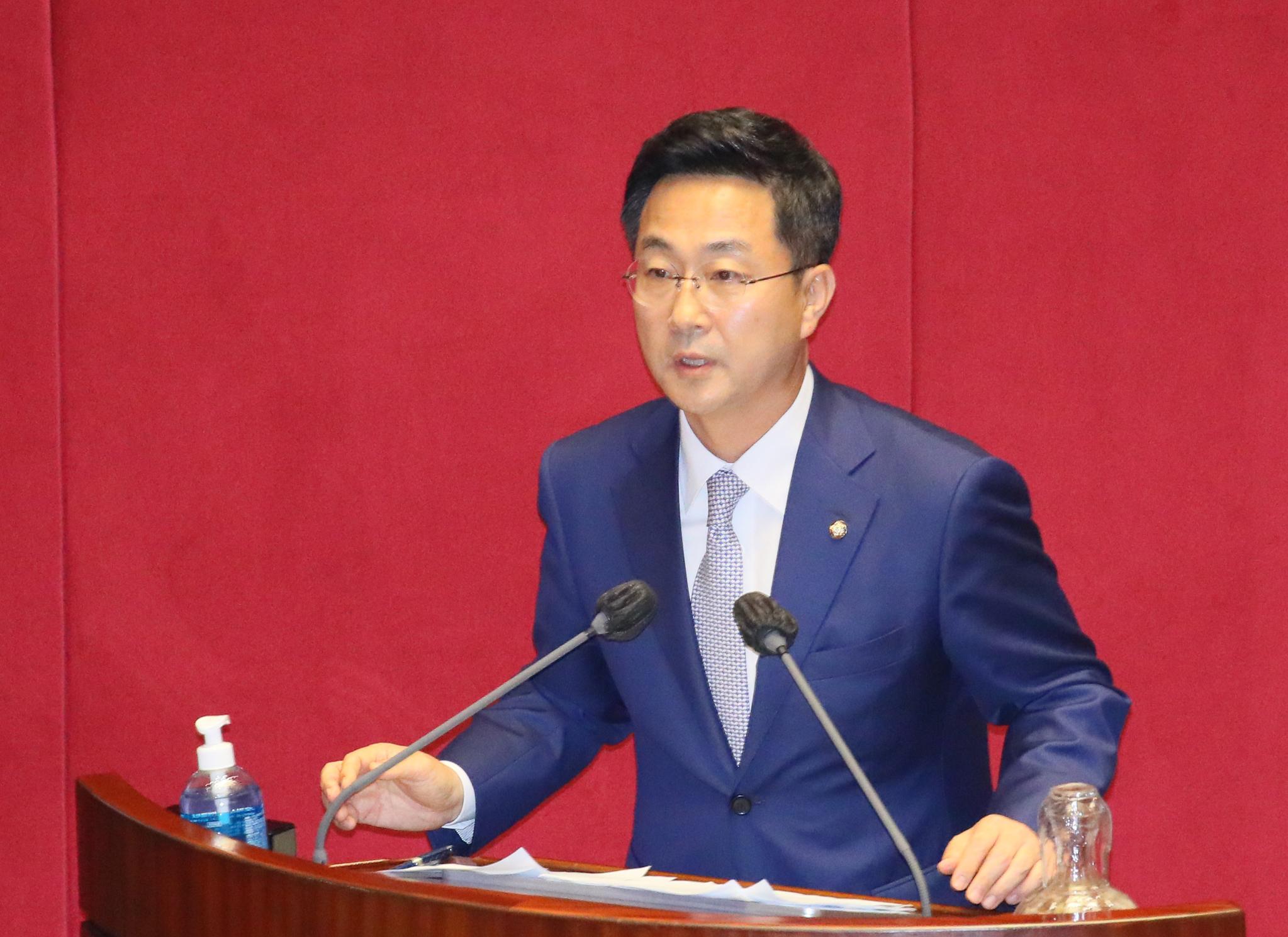 박성준 더불어민주당 원내대변인. 연합뉴스