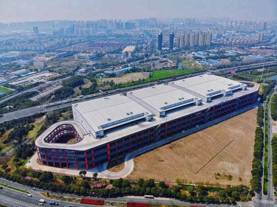 중국 ESR 물류센터 모습. 사진 SK(주)