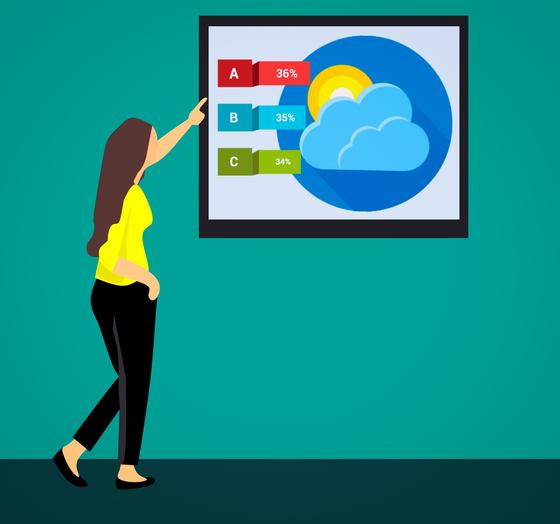 옛날에는 하늘의 분위기를 살펴 날씨를 점치곤 했는데, 요즘은 보통 뉴스나 스마트폰 일기예보를 본다. [사진 pixabay]