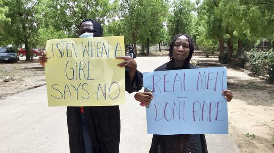 아동 강간범 거세후 사형 비상사태 나이지리아 초강력 응징