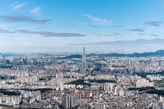 서울의 아파트. 셔터스톡