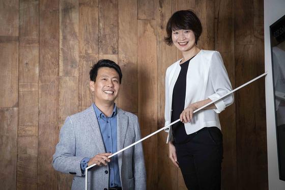 티비티 임정욱, 이람 대표(왼쪽부터)가 11일 서울 강남구 신사동 사무실에서 중앙일보와 인터뷰하고 있다. 장진영 기자