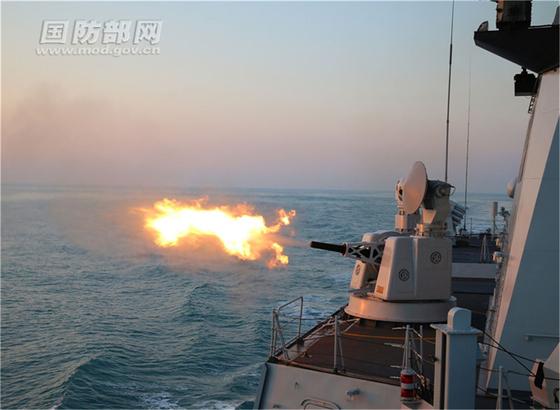 중국 인민해방군 동부전구는 대만과의 관계가 나빠질 때마다 실전 훈련을 전개하며 대만을 압박하고 있다. [중국 국방부망 캡처]