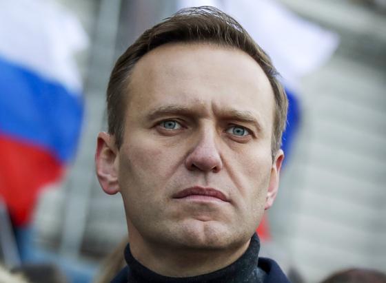 러시아 야권 지도자 세르게이 나발니. [AP=연합뉴스]