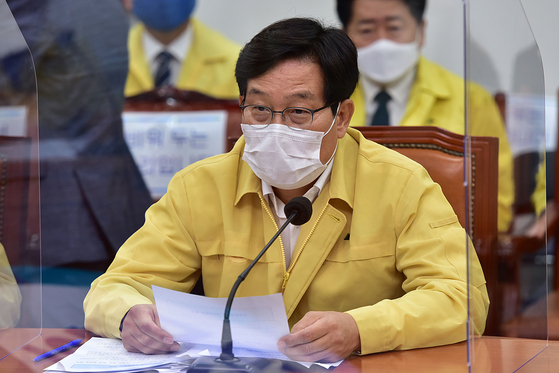신동근 더불어민주당 최고위원. 뉴스1