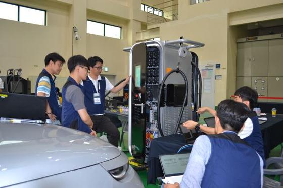 KERI, 전기차 급속충전 분야 대규모 국제 시험 행사 개최