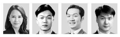 김선아, 김동일, 손광해, 이원휴(왼쪽부터).