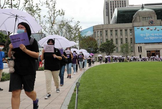 [단독]SNS 사진이 박원순 침묵했던 6층 사람들의 반격