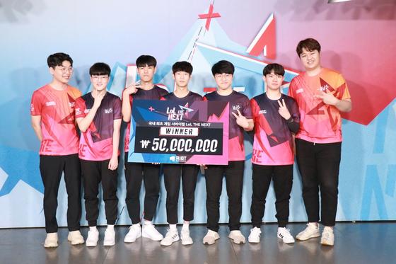 리그 오브 레전드의 서바이벌 오디션 프로그램 'LoL 더 넥스트'의 결승전 우승팀.