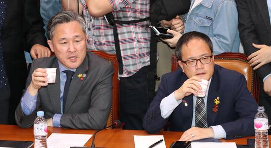 패트재판 이번엔 민주당… 박주민·박범계 등 10명 출석