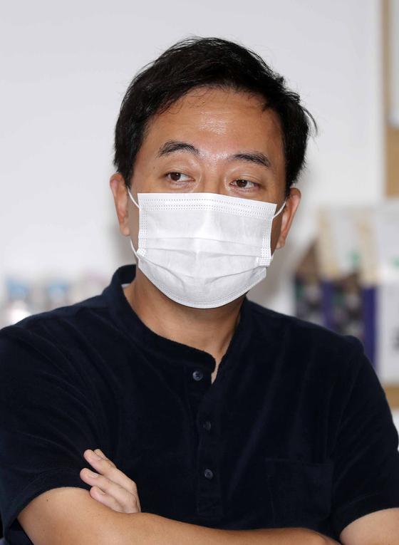 금태섭 전 의원. 김상선 기자