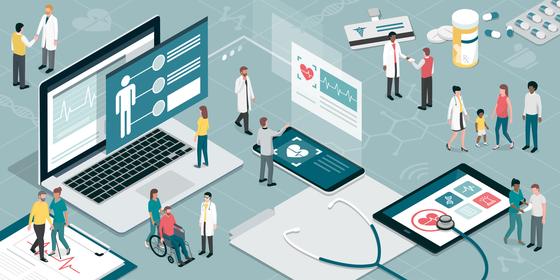 의료 데이터 활용을 위한 클라우드 도입이 암초를 만났다. 사진 셔터스톡