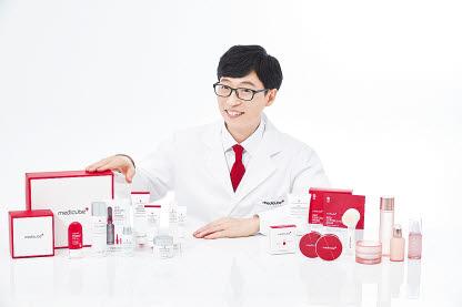 메디큐브는 3년 연속 브랜드 홍보모델로 방송인 '유재석'을 발탁했다.