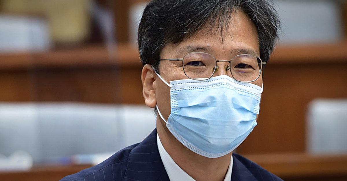 조성대 중앙선거관리위원 후보자가 22일 국회 인사청문회에서 답변하고 있다. 연합뉴스