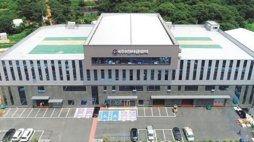 경서글로텍은 자체 기술개발실을 갖춘 국내 최대 산업용 청소기 제조업체다.