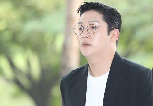 가수 고 구하라씨를 협박한 혐의로 실형을 살고있는 최종범씨의 모습. [뉴스1]