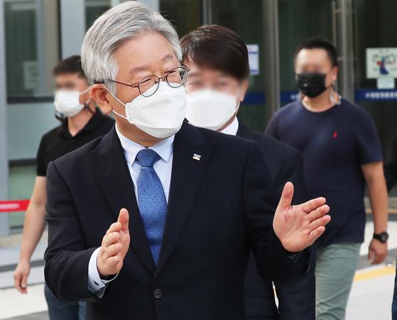 이재명 경기도지사. 연합뉴스