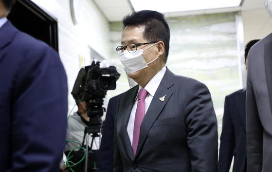 김정은 사과문, 박지원이 전달…감청에 자진 월북 표현있어