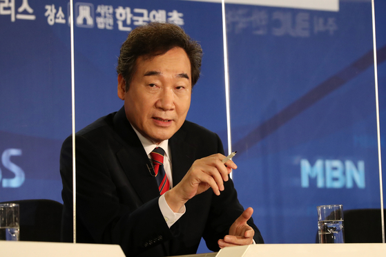 더불어민주당 이낙연 대표. 오종택 기자