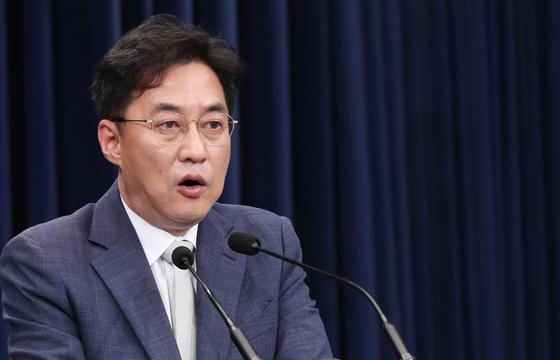 강민석 청와대 대변인. 뉴스1