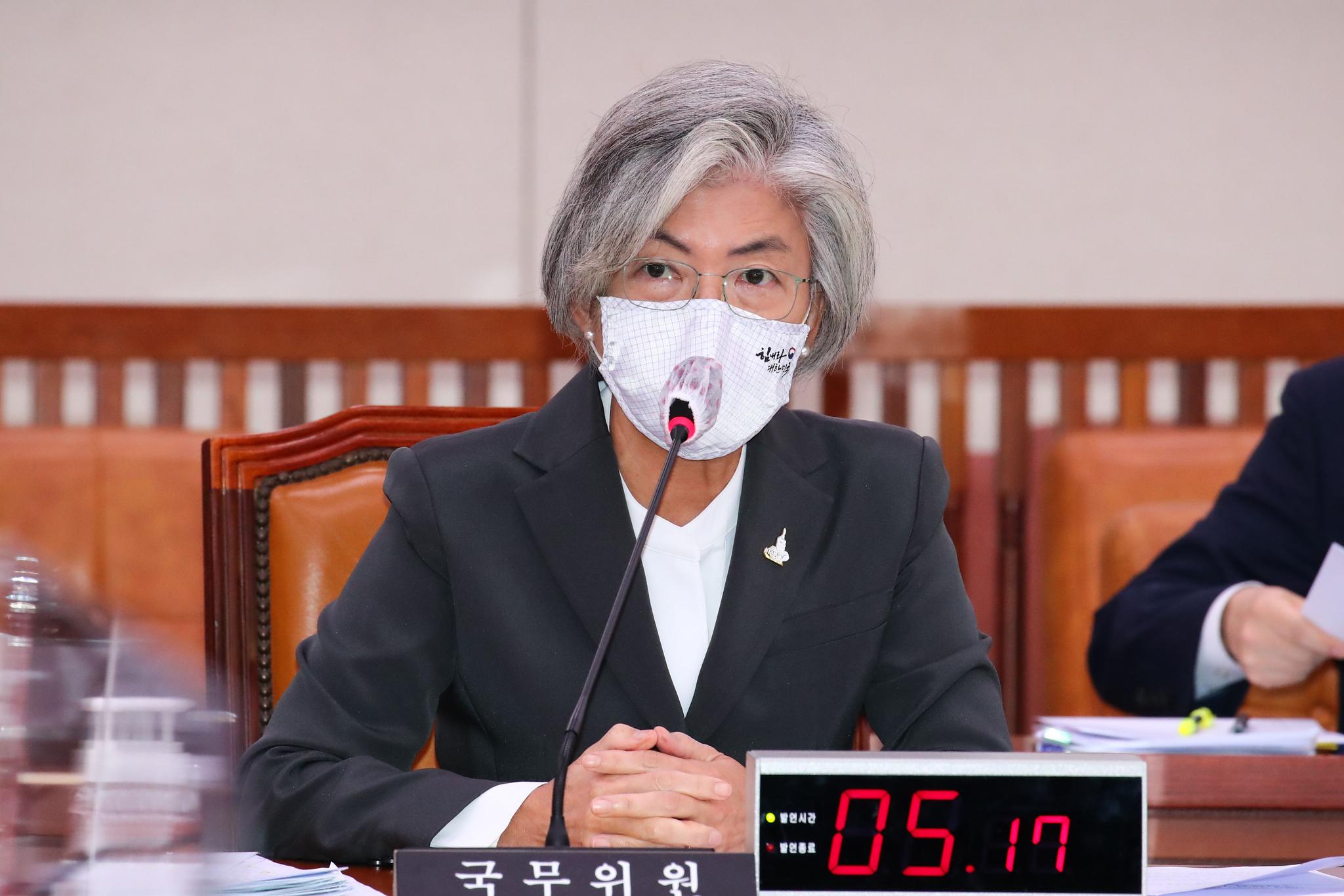 강경화 외교부 장관. 중앙포토