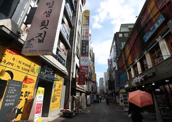 서울 종로구 젊음의 거리. 연합뉴스