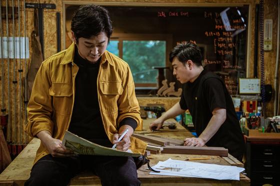 코오롱FnC가 이달 출시한 전문 웨크웨어 라인 '볼디스트'. 사진 볼디스트