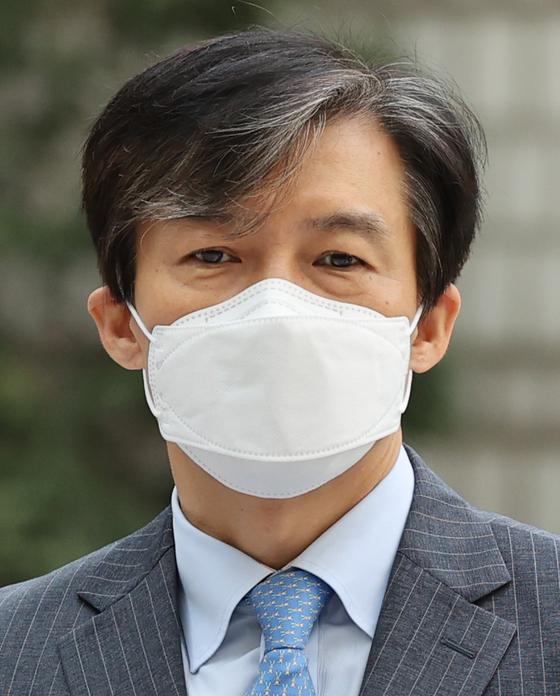 조국 전 법무부 장관. 연합뉴스