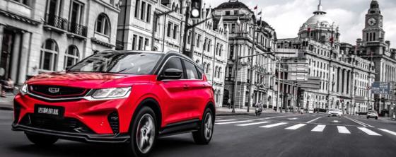 지리차의 소형 SUV 빈위에(缤越). 필리핀, 말레이시아, 러시아 등 해외시장에선 쿨레이(coolray)라는 모델명으로 판매되고 있다. 사진 지리차 홈페이지
