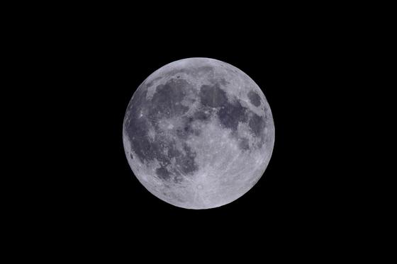보름달 사진. [한국천문연구원 제공]