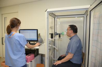 폐기능검사 자료. 사진 강북삼성병원