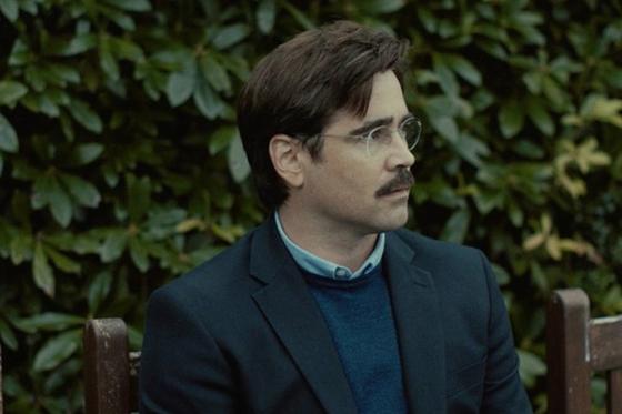 영화 '더 랍스터'에서 데이비드 역을 맡은 콜린 파렐. 45일 동안 짝을 찾지 못하면 동물이 되어야 하는 호텔에서 그는 '랍스터'가 되길 원한다. [사진 (주)영화사 오원, (주)브리즈픽처스]