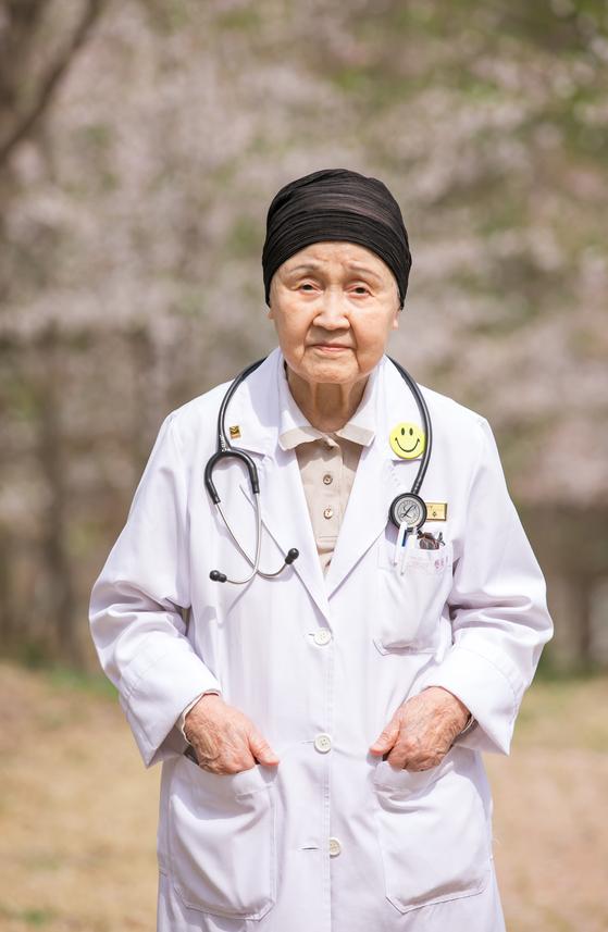 94세의 국내 최고령 현역 의사로 활동하다 별세한 한원주씨. [매그너스요양병원]