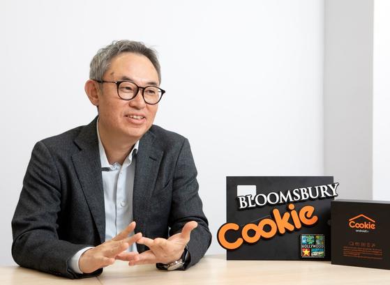 동남아 시장에서 OTT '쿠키'를 운영하는 블룸스베리 김요섭 대표.